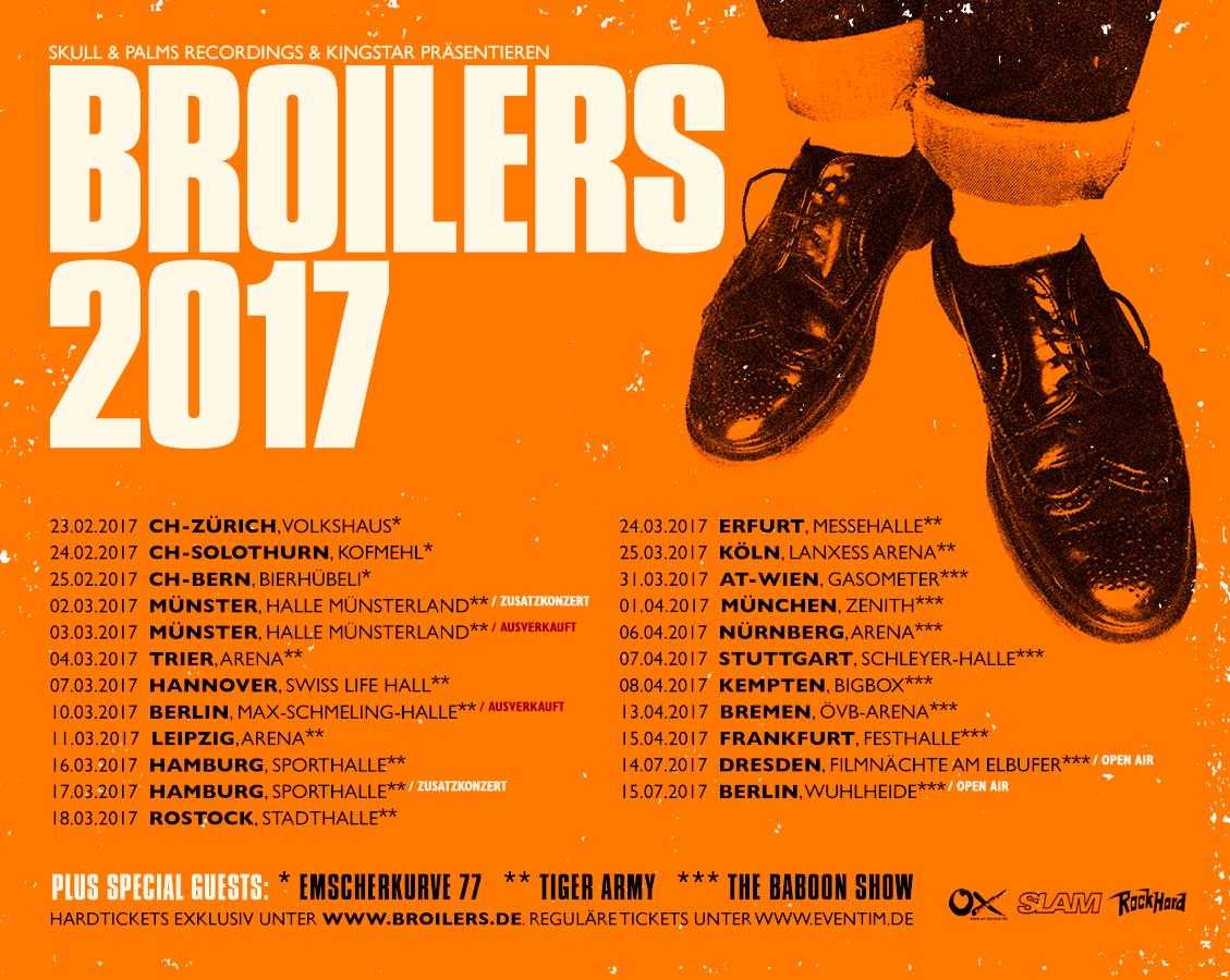 Setlist Broilers