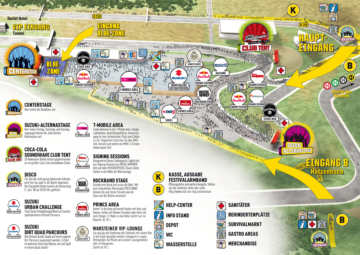 Rock Am Ring Karte.Aprilscherz 2009 Parkrocker Net Rock Im Park News Und Forum
