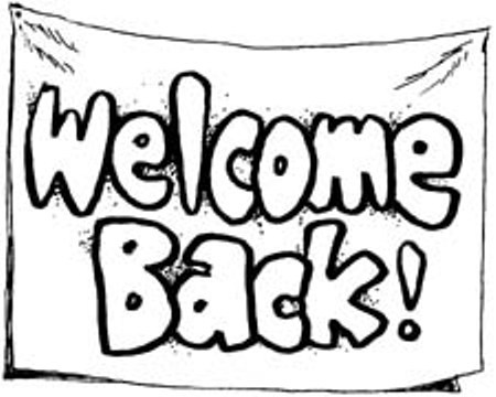 Welcome back we missed you pages coloring pages for Welcome back coloring pages